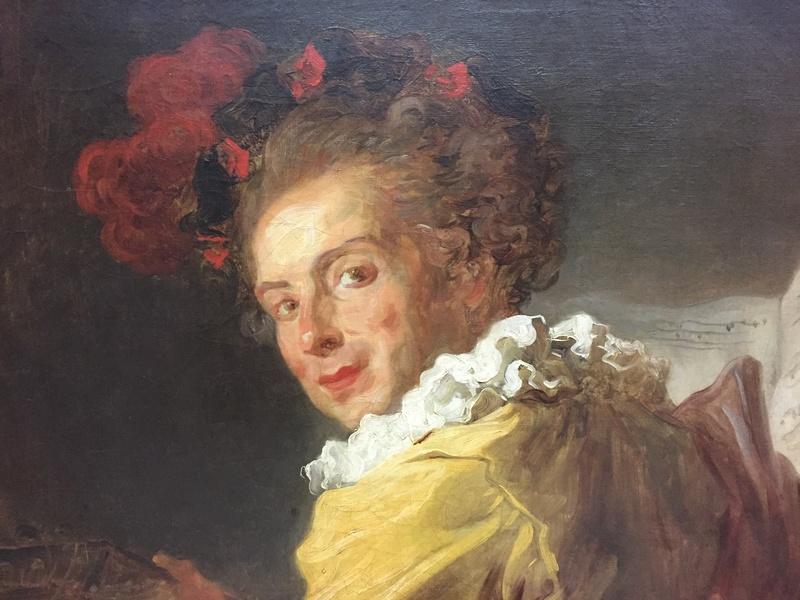 La peinture française du XVIIIème siècle au Louvre Img_9623