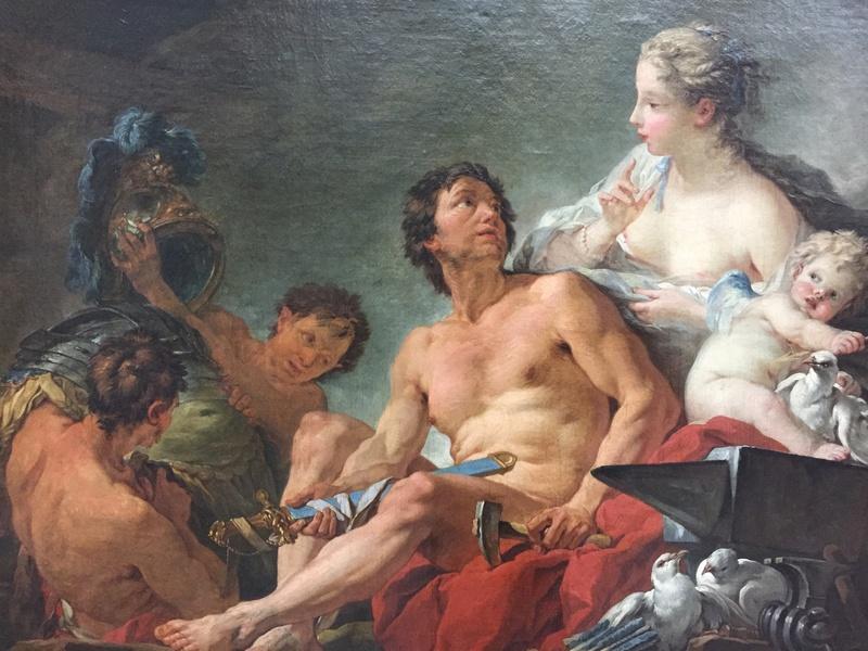 La peinture française du XVIIIème siècle au Louvre Img_9625