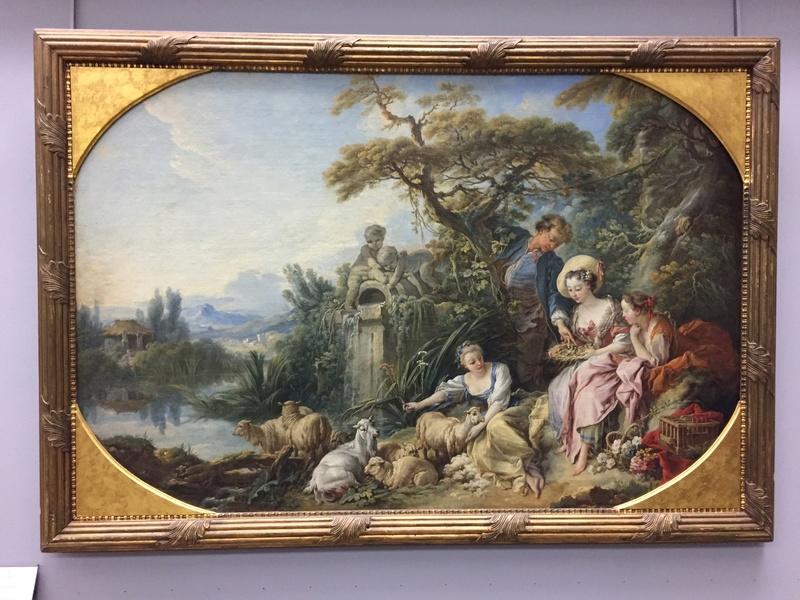 La peinture française du XVIIIème siècle au Louvre Img_9629