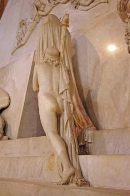 Le monument funéraire d'Antonio Canova (1757-1822) à la basilique des Frari (Venise) Imgp1710