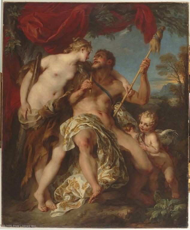 La peinture française du XVIIIème siècle au Louvre Louvre10