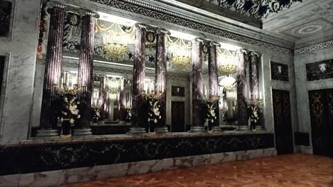 Les maisons de bois pour les bals de Marie-Antoinette