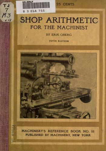 كتاب Shop Arithmetic for The Machinist - Fifth Revised Edition  S_a_m_10