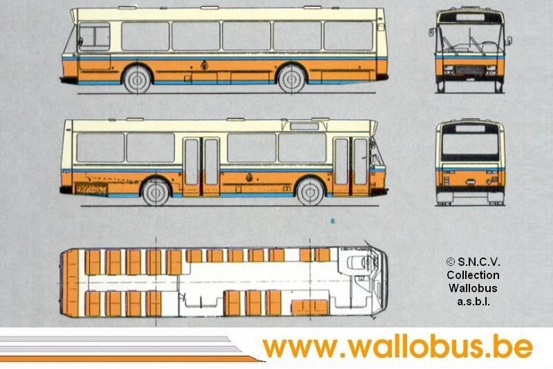 Restauration d'un autobus standard des années 1980. A120_s10