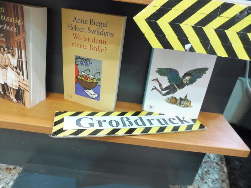 Unsere Buchhandlung ist auf dem Laufenden P1060514