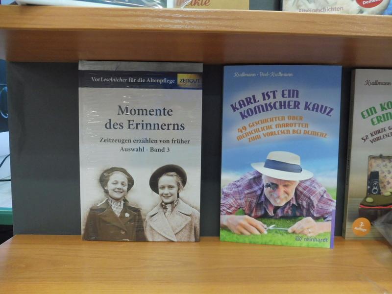 Unsere Buchhandlung ist auf dem Laufenden P1060516