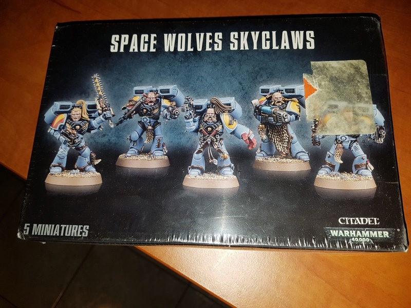 Boite Space Wolves Skyclaws B8ea2010