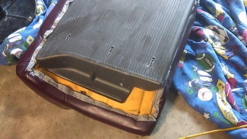 Making Adjustments to Sedan Rear Seat in my 96 Wagon. 13001110
