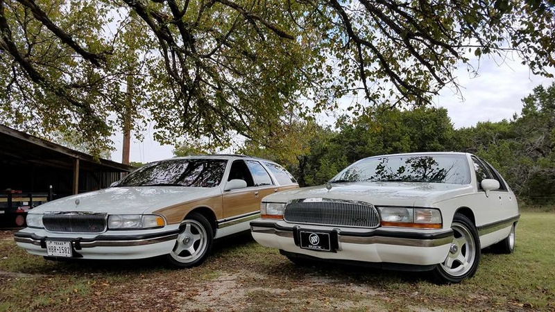 """Roadmaster Sedan and Wagon """"Glamour Shots"""", and 200-mile Texas Hill Country Roadmastering Road Trip 22221514"""