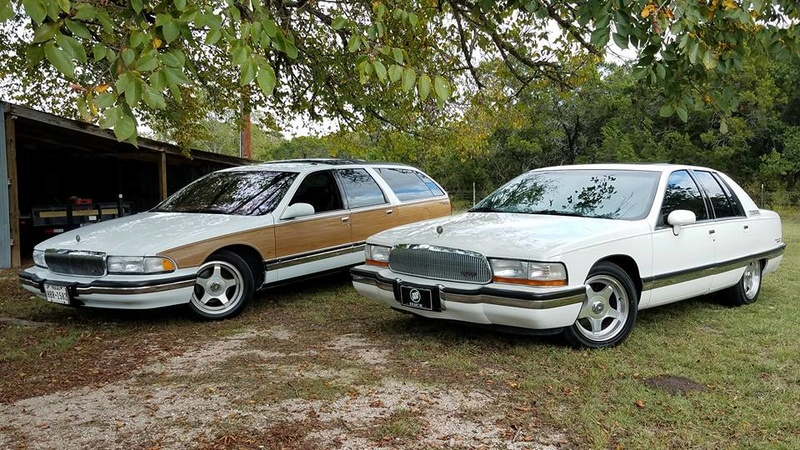 """Roadmaster Sedan and Wagon """"Glamour Shots"""", and 200-mile Texas Hill Country Roadmastering Road Trip 22228114"""