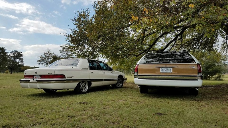 """Roadmaster Sedan and Wagon """"Glamour Shots"""", and 200-mile Texas Hill Country Roadmastering Road Trip 22228613"""