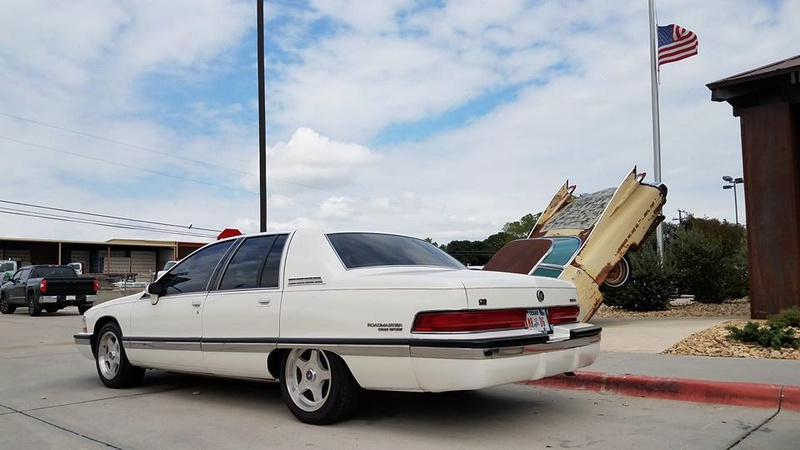 """Roadmaster Sedan and Wagon """"Glamour Shots"""", and 200-mile Texas Hill Country Roadmastering Road Trip 22282010"""