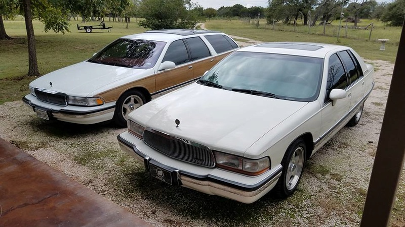 """Roadmaster Sedan and Wagon """"Glamour Shots"""", and 200-mile Texas Hill Country Roadmastering Road Trip 22308811"""