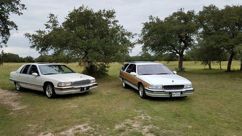 """Roadmaster Sedan and Wagon """"Glamour Shots"""", and 200-mile Texas Hill Country Roadmastering Road Trip 22310613"""