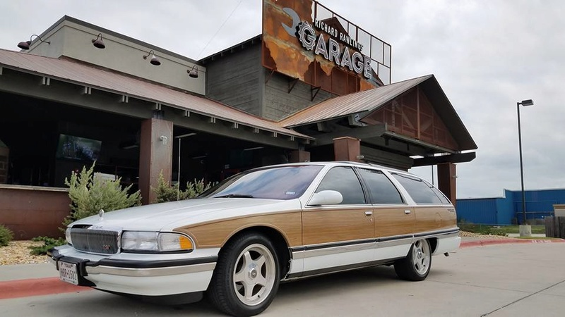 """Roadmaster Sedan and Wagon """"Glamour Shots"""", and 200-mile Texas Hill Country Roadmastering Road Trip 22366410"""
