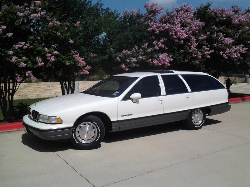 1992 Olds Custom Cruiser Wagons -- 4 of them Tires_10