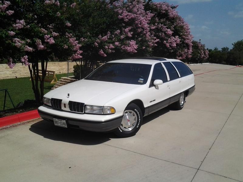 1992 Olds Custom Cruiser Wagons -- 4 of them Tires_12