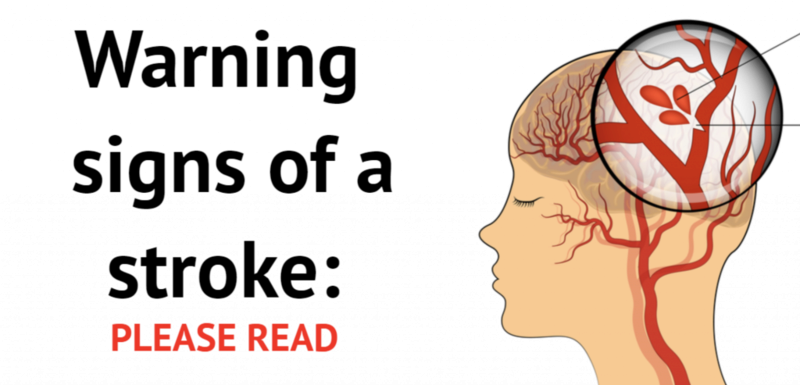 Warning Sign of a Sroke Stroke10