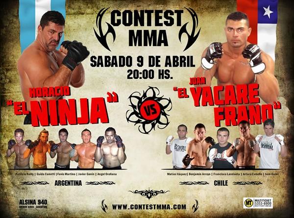 Argentina vs Chile en el CONTEST MMA Mma_ar10