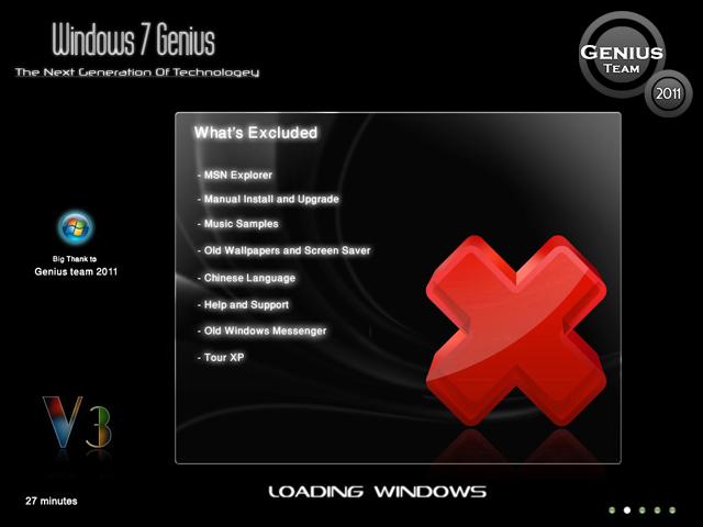 """ويندوز اكس بى الرهيب """" Windows XP 7 Genius Edition 3 """" الويندوز الاخف والاجمل والاقوى. بحجم 699 ميجا . تحميل مباشر وعلى سيرفرات متعددة 10464410"""