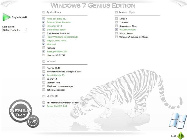 """ويندوز اكس بى الرهيب """" Windows XP 7 Genius Edition 3 """" الويندوز الاخف والاجمل والاقوى. بحجم 699 ميجا . تحميل مباشر وعلى سيرفرات متعددة 31694010"""