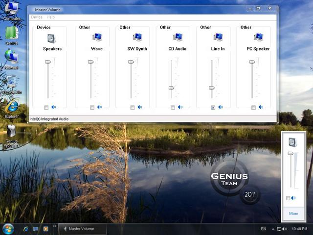 """ويندوز اكس بى الرهيب """" Windows XP 7 Genius Edition 3 """" الويندوز الاخف والاجمل والاقوى. بحجم 699 ميجا . تحميل مباشر وعلى سيرفرات متعددة T13y1010"""