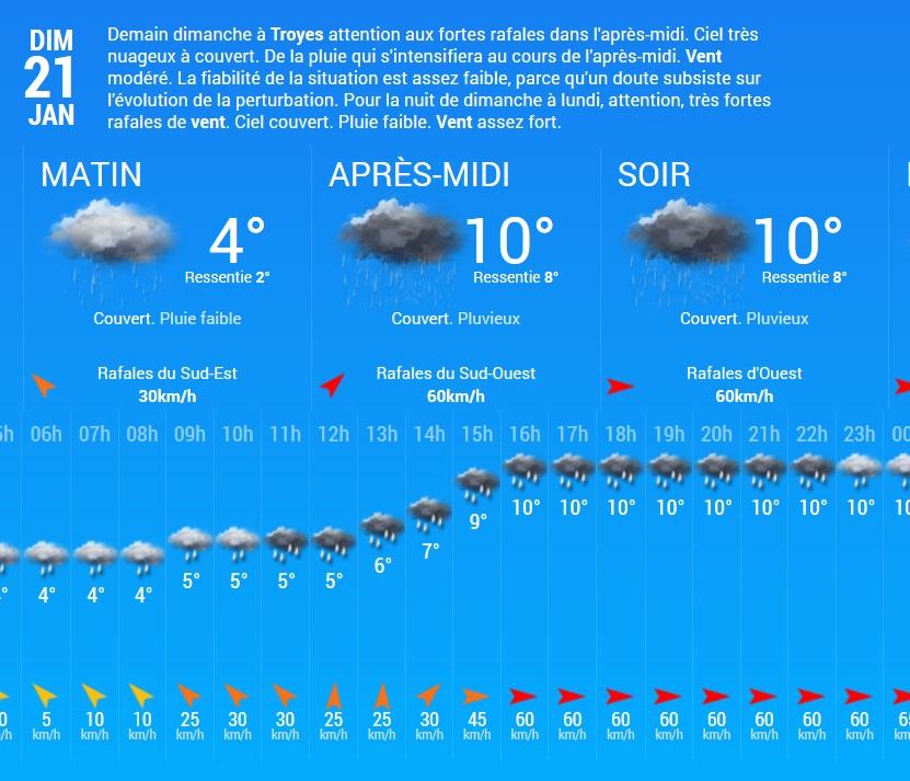 """21 janvier 2018 a Neuville sur Vanne [Terrain du """"militaire.com""""]  Met13"""