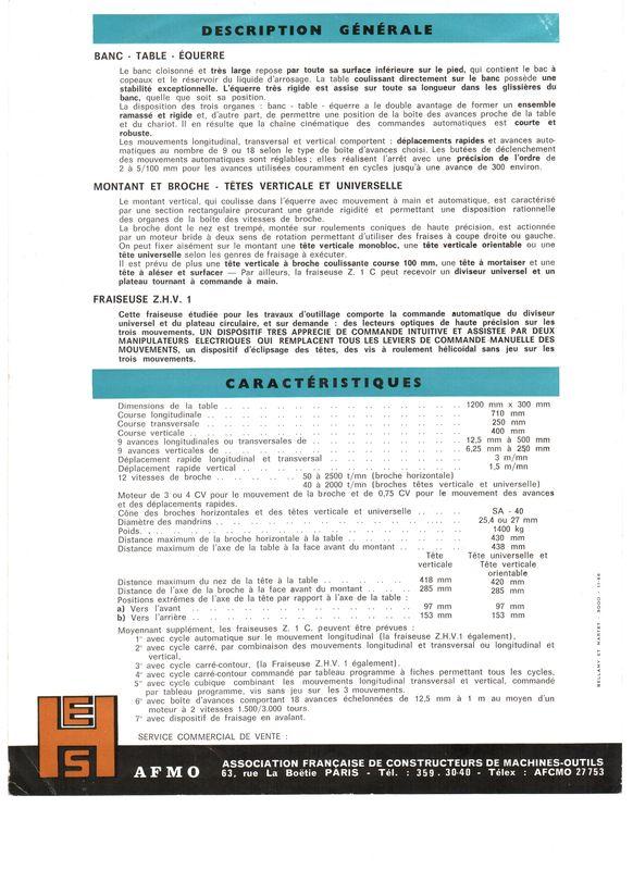 Ernault Somua Z1C / ZHV1 et Z3C / ZHV3 Pub_es11