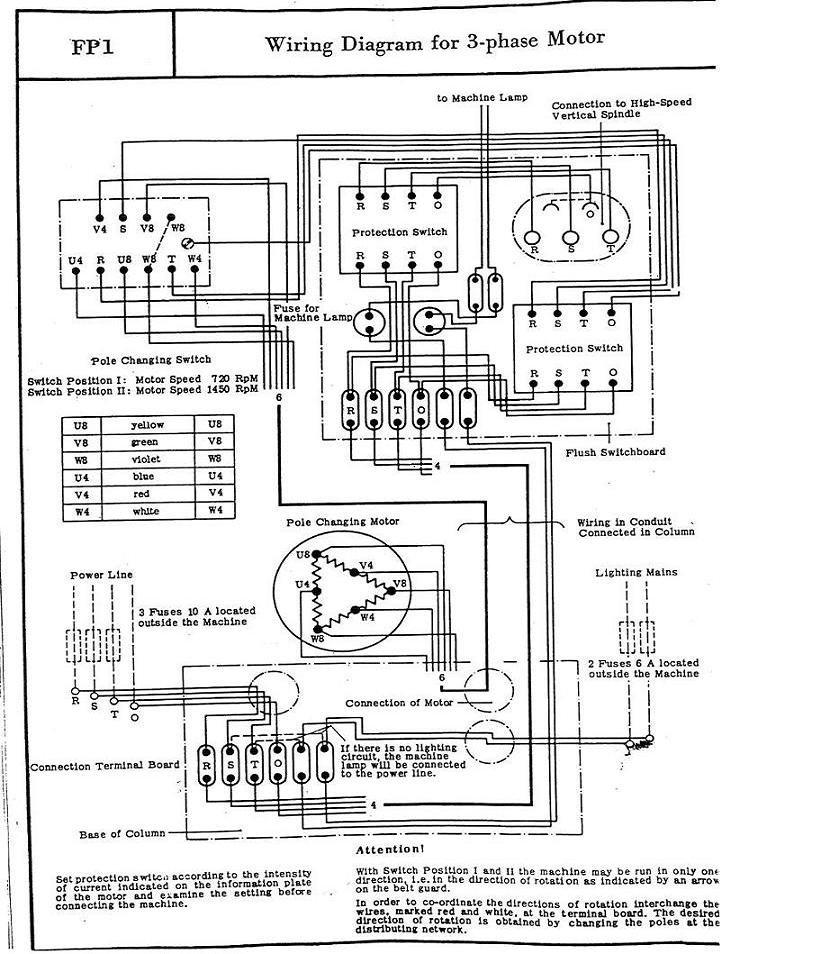 Deckel FP1 Schema10