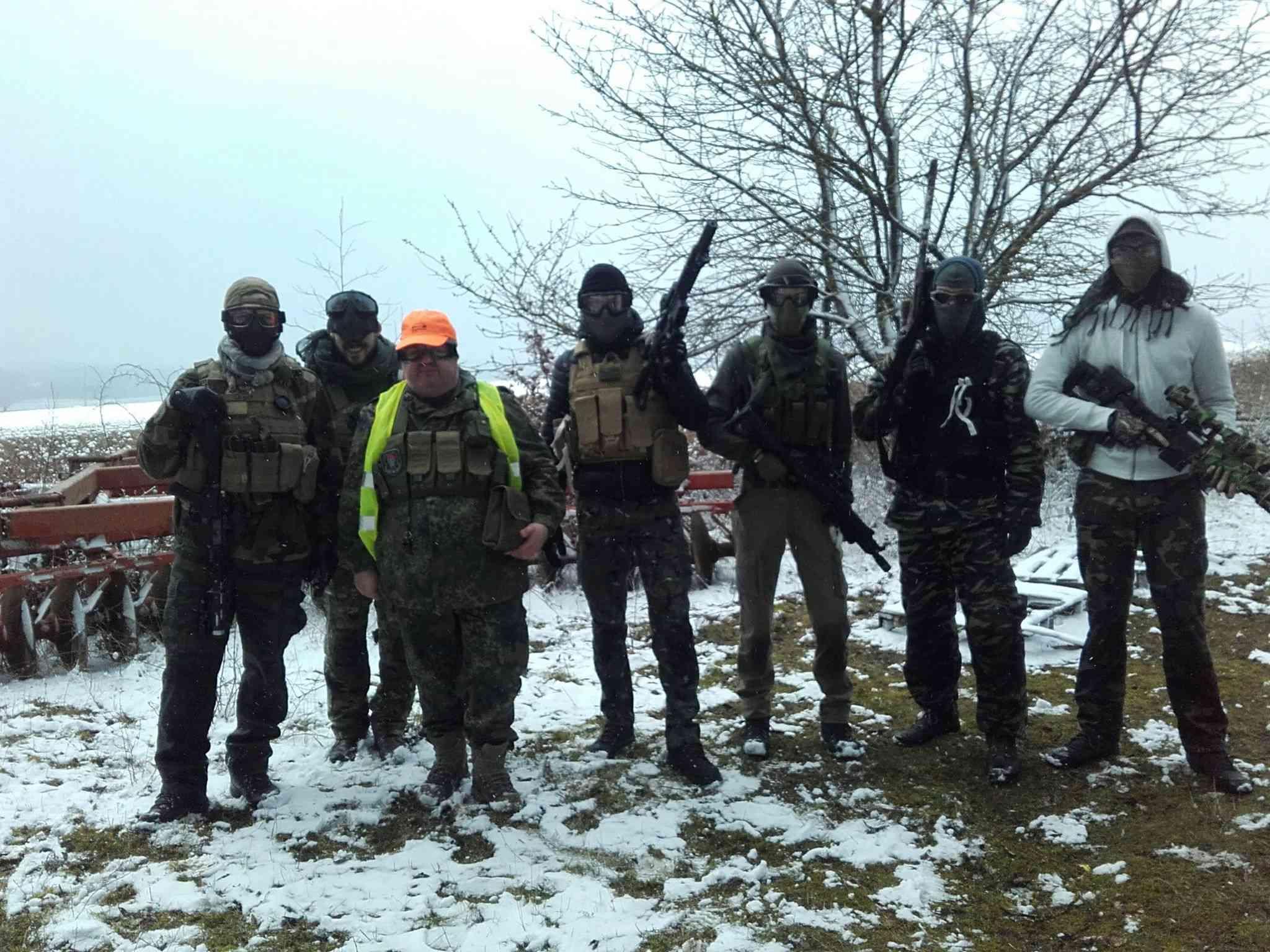 """18 mars a Neuville sur Vanne [Terrain du """"militaire.com""""] Sur20"""