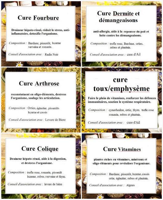 cures faites maison :)  Cures12