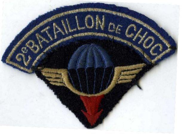 LES INSIGNES DU BATAILLON DE CHOC 1943/1963. - Page 3 2yme_b12