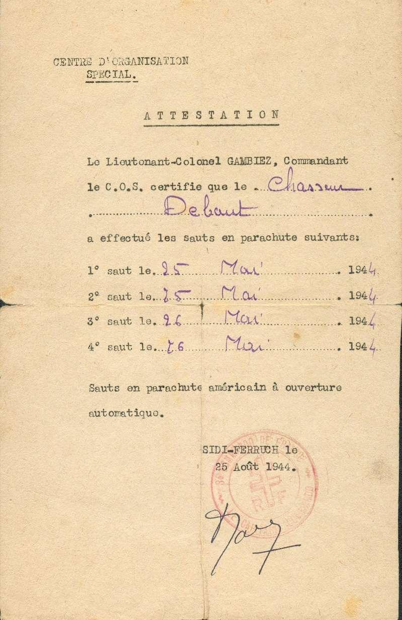 [PHOTOS] BATAILLON DE CHOC - Page 4 Attest12