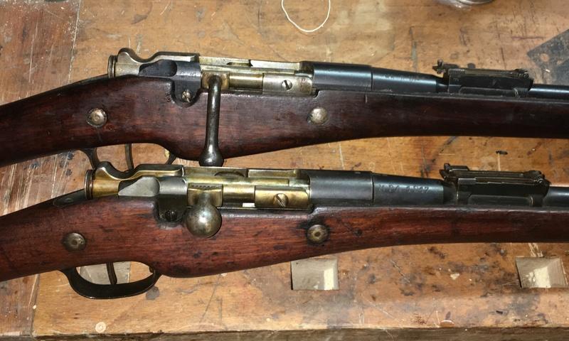 Berthiers M1905-17 et M16 Bonheur et Deception Img_e813