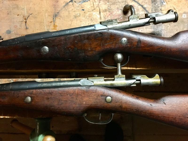 Berthiers M1905-17 et M16 Bonheur et Deception Img_e816