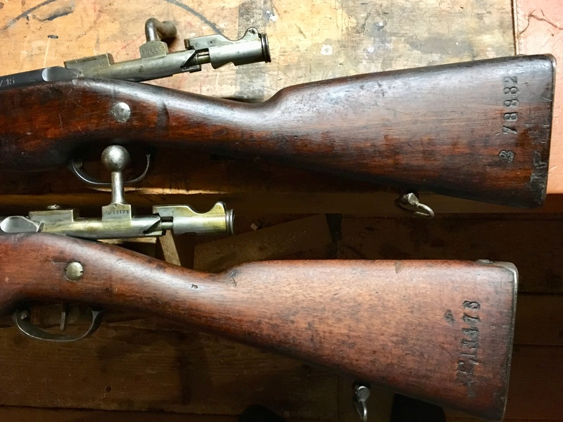 Berthiers M1905-17 et M16 Bonheur et Deception Img_e818