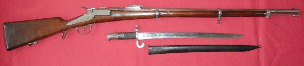 Essais, tirs, et comparatif de fusils réglementaires à cartouche poudre noire - Page 3 Werndl10