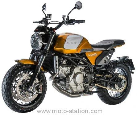 Moto Morini Scrambler 2018 Moto-m10