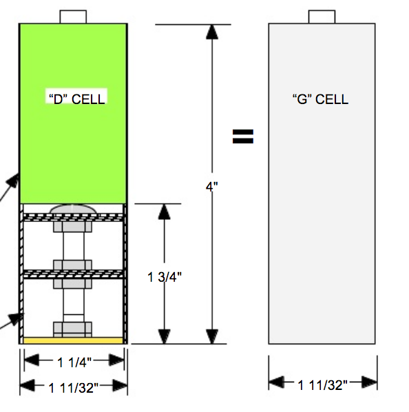 What type of battery does this Cox item connect to? G_cell10