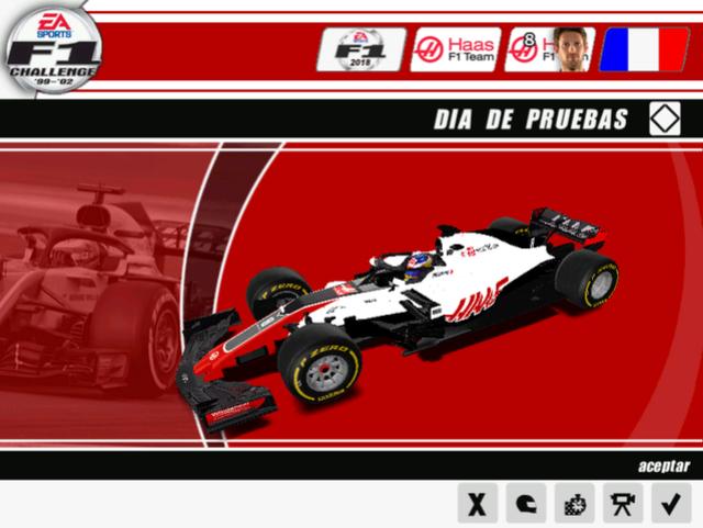 "F1 Challenge 2018 MOD CMT  ""W.I.P"" 611"