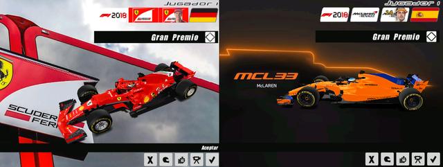 "F1 Challenge 2018 MOD CMT  ""W.I.P"" 711"