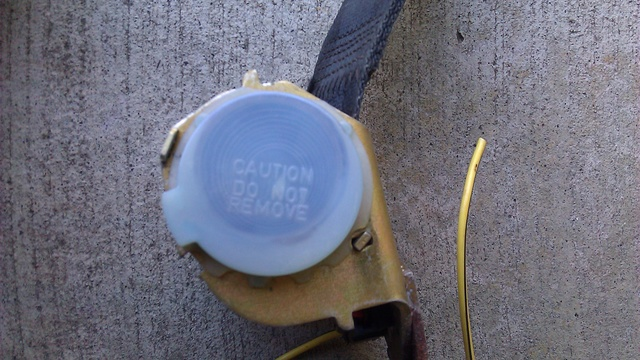'76 EC/Sprint seat belt buzzer operation 7377fl17