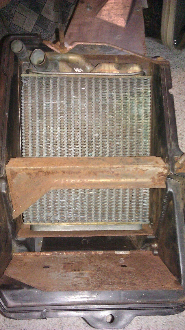 AC vs non AC space for heater core Heater11