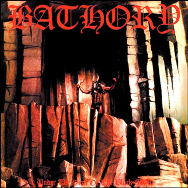 "BATHORY ""Under The Sign of the Black Mark"" (Black Metal 1987) 75710"