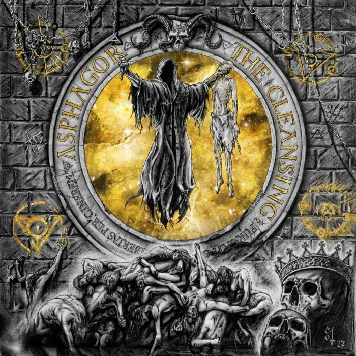 "ASPHAGOR ""The Cleansing""  (Black Metal - MAI 2018) Asphag10"