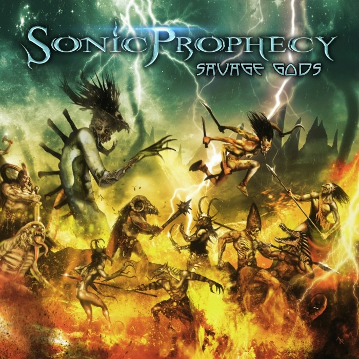 "SONIC PROPHECY  ""Savage Gods""  (Power US - JAN 2018) Sonic10"
