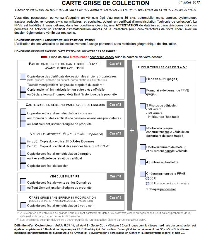 Fiche: Carte grise collection Screen10