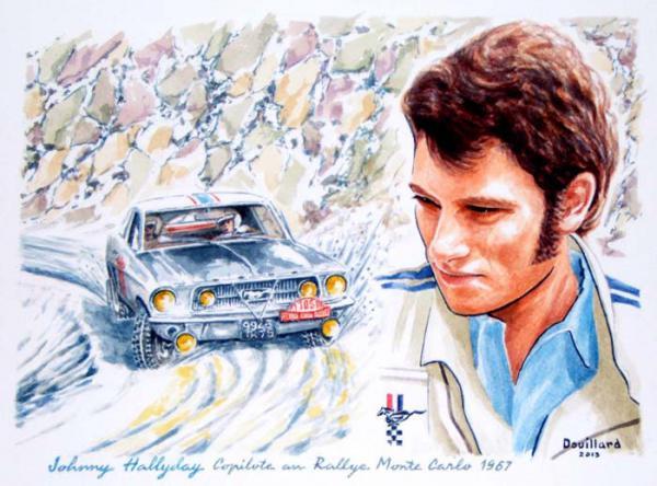 le sport auto  et l'art - Page 34 Johnny10
