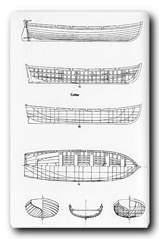 Fregate H.M.S Surprise au 1/48 de A.L - Page 39 Cutter10