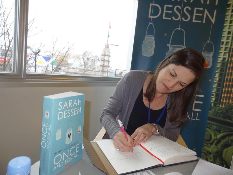 Rencontre avec Sarah Dessen - Livre Paris - Mars 2018 Dsc08310